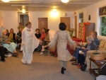 Hindu guests dancing