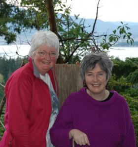 Maureen Wild and Margaret McIntyre