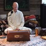 Tejomaya meditating