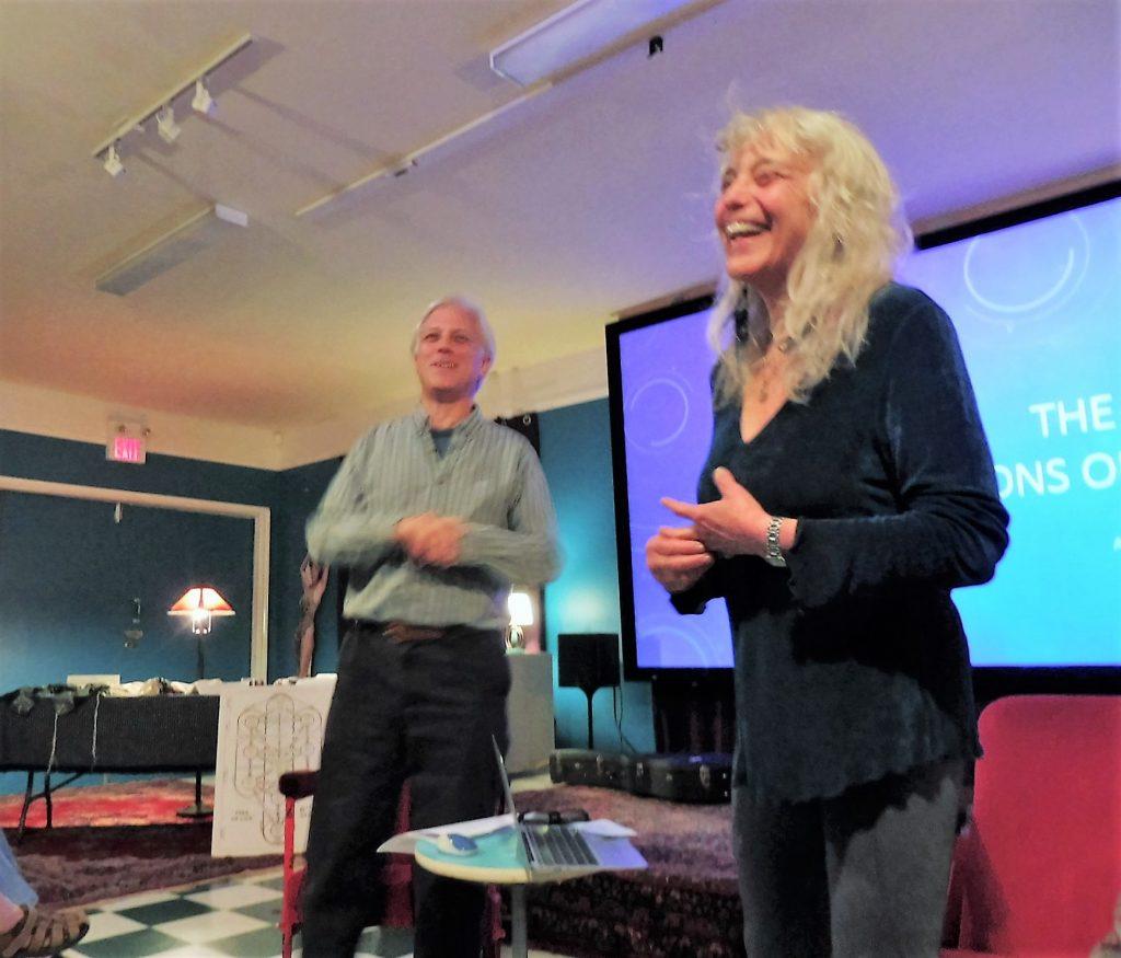 Amy Block and Paul Gellman